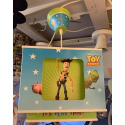 Official Disney Toy Story Childrens pendant 4 images on each side child friendly
