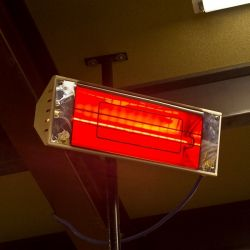 Pro-Lite 1400W Slim R7s 350mm Ruby Slim Infra-Red Halogen Heater Lamp, 120V