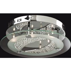 Firstlight 8050CH Sarina 6 Light Flush Fitting