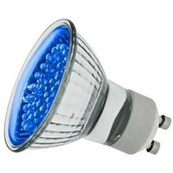 Globo 18w Led Gu10 Blue Finish