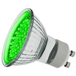 LEDlite Green GU10 LED 240v PAR16