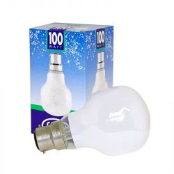 Leuci 100W 230V Bayonet B22 T60 Softone Snow White Light Bulb