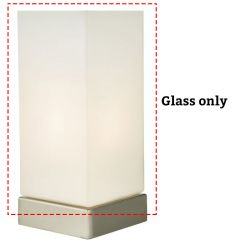 Dar Lighting MAX Spare Glass For MAX4138/MAX4142