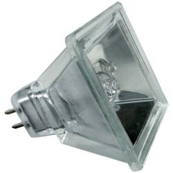 Quadro GU5.3 12V 50W 60D Square MR16 Halogen Spot Light, Replaces the Aurora AU-MR16/50SQ