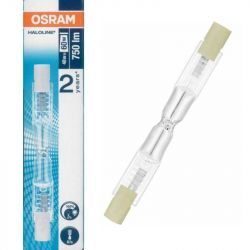 Osram 64684 R7s 48w = 60w Energy Saver Halogen Linear Lamp