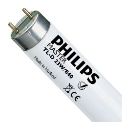 Philips Master TL-D T8 1000mm 23W Fluorescent Tube - Cool White 840