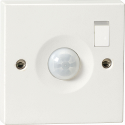 Wall Mounted PIR Sensor IP20 White Switched