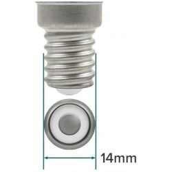 Sylvania Eco Halogen Candle Bulb 18W = 24W 240V SES E14 Dimmable, Warm White