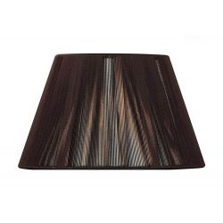 Mantra MS042 Silk String Shade Dark Brown 400mm
