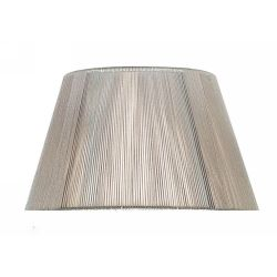 Mantra MS043 Silk String Shade Silver Grey 400mm