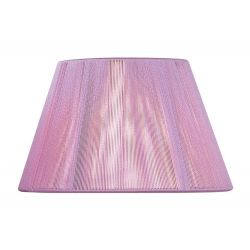 Mantra MS046 Silk String Shade Lilac Pink 400mm