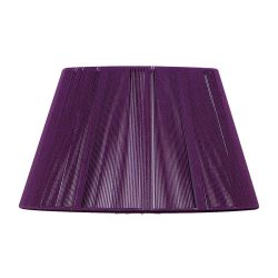Mantra MS071 Silk String Shade Aubergine 400mm