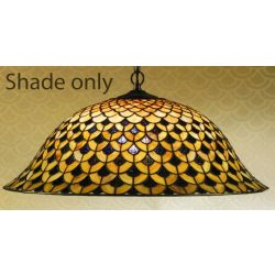 Interiors 1900 TG68SHL Hestia 50cm Large Tiffany Shade