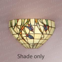 Interiors 1900 TV148W Liberty Wall Light Tiffany Shade