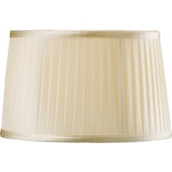 Diyas ILS31220 Willow Cream Fabric Shade Cream 300mm Light