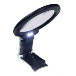 Illuminated Magnifier for general reading, hobbies, craftwork, maps, etc