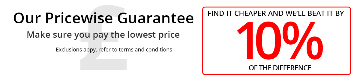 Our Pricewise Guarantee