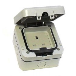 Weatherproof Socket 1G IP66