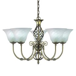 Searchlight 975-5 Cameroon Ceiling Light