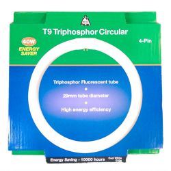 BELL 40W T9 CIRCULAR FLUORESCENT TUBE 4PIN G10q COOL WHITE