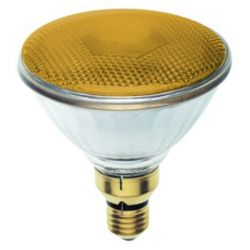 BELL 03140 80W 240V ES/E27 PAR38 Incandescent Yellow Reflector Lamp