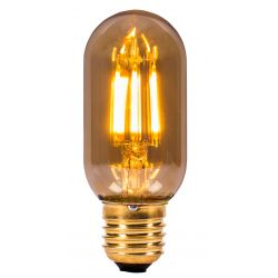 BELL 01439 4W LED Vintage Tubular - ES, Amber, 2000K - Warm White