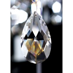 Diyas C20050 Crystal Pendalogue Clear Without Ring 50mm