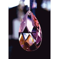 Diyas C20051 Crystal Pendalogue Lilac Without Ring 50mm