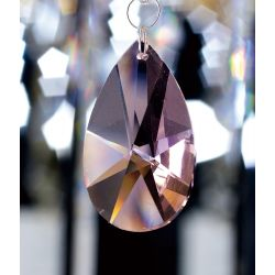 Diyas C20131 Crystal Star Pendalogue Lilac Without Ring 38mm