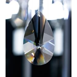 Diyas C20150 Crystal Star Pendalogue Clear Without Ring 50mm