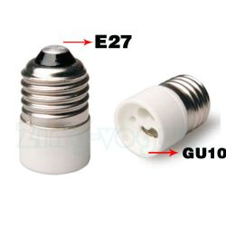 E27 to GU10 Lamp Holder Adapter