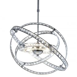 Dar Lighting ETE2350 Eternity 10 Light Pendant