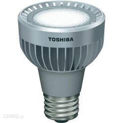 Toshiba LED 9W 240V R63 PAR20 Cool White Reflector Spot Lamp, 40 degree beam