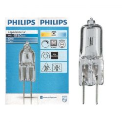 Philips 100w 12v Clear Gy6.35 Halogen Capsules