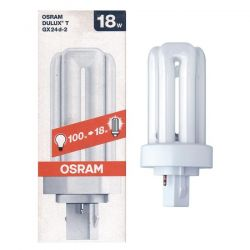 Osram 18w 2 Pin Gx24d-2 Pl-T Cool White 4,000k