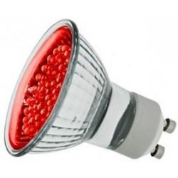 LEDlite Red GU10 LED 240v PAR16