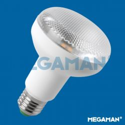 Megaman 220-240V LED R80 7W = 52W ES E27 Reflector Spot Lamp, Warm White