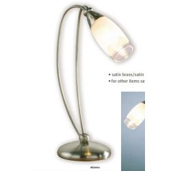 DAR lighting NEX4041 Satin brass table lamp