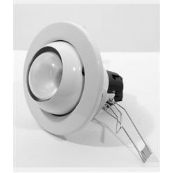 Eterna WHITE R80 100W Eyeball Recessed spot light Hole Dia 140mm