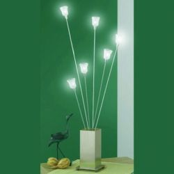EGLO 86073 Chico table lamp flowers white removeable stems