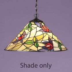 Interiors 1900 T014SH40 Prarie 40cm Tiffany Shade