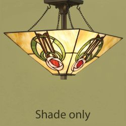 Interiors 1900 T018SH35 Keppie 35cm Tiffany Shade
