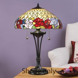 Interiors 1900 T108SH40 Kichiri 40cm Tiffany Shade