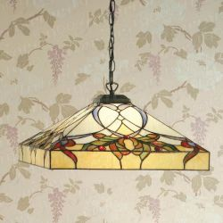 Interiors 1900 TG102SHL Tiffany Alcea Range Ceiling, Table, Floor or Wall Light
