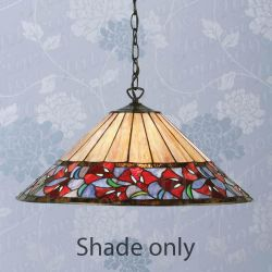 Interiors 1900 TG89SHM Kimi 42cm Tiffany Shade