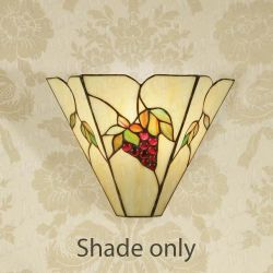 Interiors 1900 TV145W Aithea Tiffany Wall Light Shade